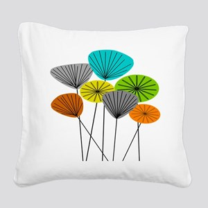 Seed Pods LARGE Square Canvas Pillow