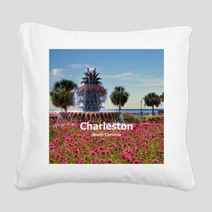 Charleston Square Canvas Pillow