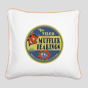 DeVilco Muffler Bearings Square Canvas Pillow