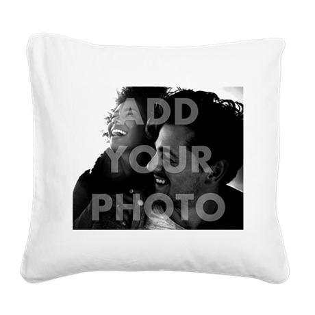 Add Your Photo Square Canvas Pillow