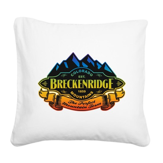 Breck Mountain Label Rainbow