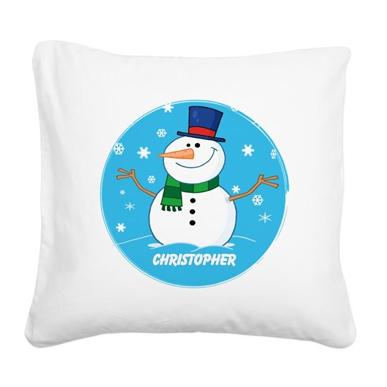 Cute Personalized Snowman Xmas gift