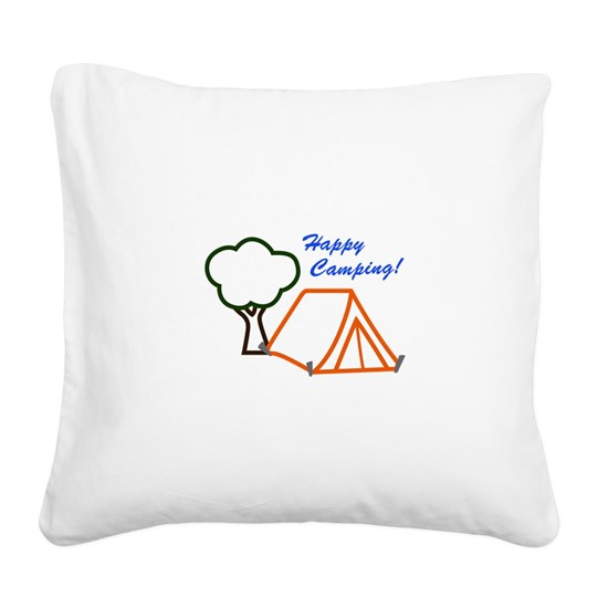 HAPPY CAMPING APPLIQUE