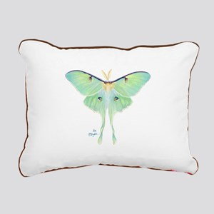 Luna moth Rectangular Canvas Pillow