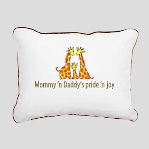 Mommy n Daddys pride n joy Rectangular Canvas Pill