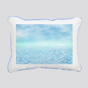 Sea of Serenity Rectangular Canvas Pillow