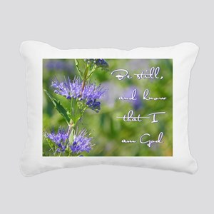 Be still Rectangular Canvas Pillow