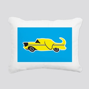 Labrador Taxi Rectangular Canvas Pillow