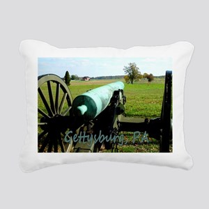 Canon on Battlefield, Ge Rectangular Canvas Pillow