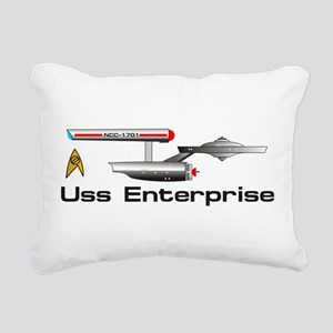 Enterprise Rectangular Canvas Pillow