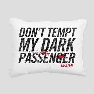 Dark Passenger Rectangular Canvas Pillow