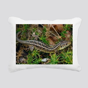 Male sand lizard - Pillow