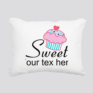 personalized Sweet Cupcake Rectangular Canvas Pill