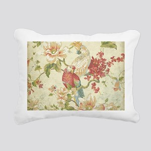 Beautiful vintage floral Rectangular Canvas Pillow