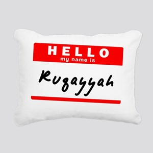 Ruqayyah Rectangular Canvas Pillow