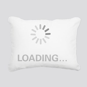 loading_circle Rectangular Canvas Pillow