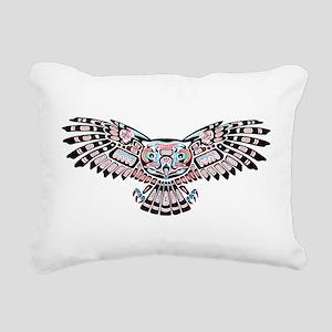 649688c34 Pillows. Mystic Owl in Native American Style Rectangular Ca