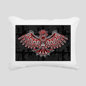 13eeccca6 Eagle Tattoo Style Haida Art Rectangular Canvas Pi