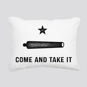 Gonzales Flag Rectangular Canvas Pillow