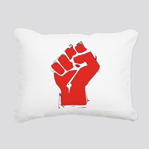 AnarchyFist Cutout Rectangular Canvas Pillow