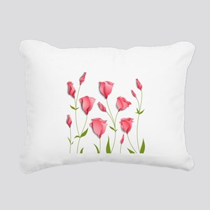 Pretty Flowers Rectangular Canvas Pillow