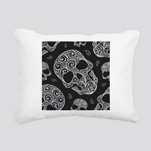 Skulls Rectangular Canvas Pillow