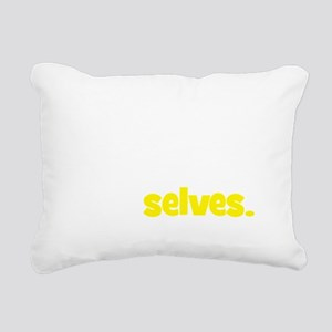 myselves2 Rectangular Canvas Pillow
