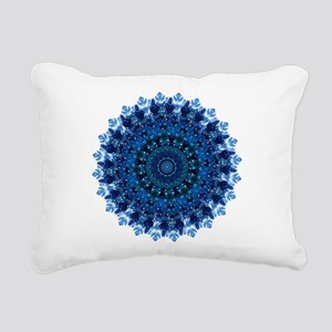 Dotty Love Mandala Kaleidoscope Rectangular Canvas
