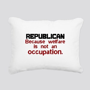 Republican Rectangular Canvas Pillow