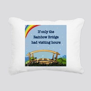 ccbc1f3f99aa Rainbow Bridge Rectangular Canvas Pillow