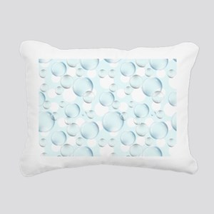Bubble Sphere Rectangular Canvas Pillow