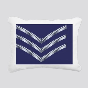 RAF-Sergeant-Mousepad.gi Rectangular Canvas Pillow