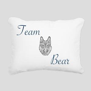 Team bear Rectangular Canvas Pillow
