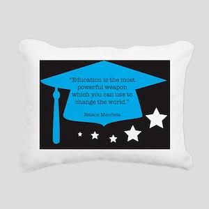nelsonmandela Rectangular Canvas Pillow
