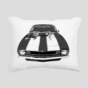 3-camr 67  02 Rectangular Canvas Pillow