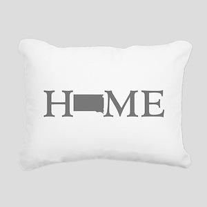 South Dakota Rectangular Canvas Pillow