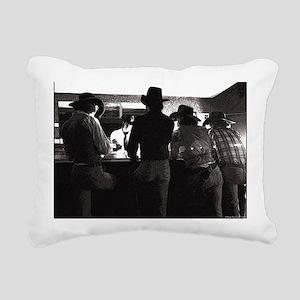 barroom Rectangular Canvas Pillow