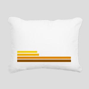 70s Rectangular Canvas Pillow