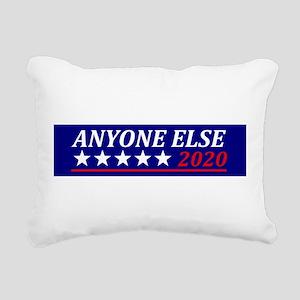 Anyone Else Rectangular Canvas Pillow