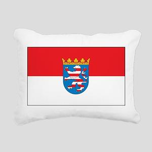 Hesse Flag Rectangular Canvas Pillow