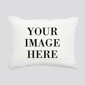Your Photo Here Design Rectangular Canvas Pillow