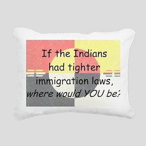 Immigration Laws Rectangular Canvas Pillow