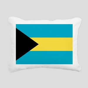 bahamas-flag Rectangular Canvas Pillow