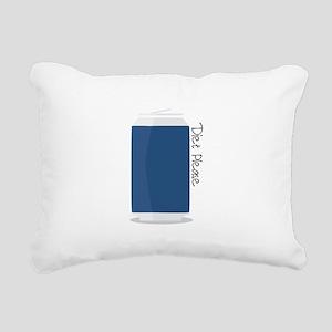 Diet Please Rectangular Canvas Pillow
