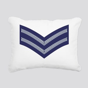 RAF-Corporal-Black-Shirt Rectangular Canvas Pillow