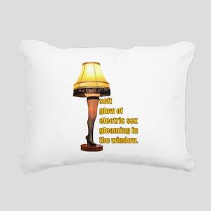 Electric Sex Rectangular Canvas Pillow