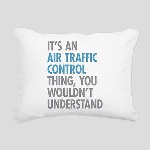 Air Traffic Control Rectangular Canvas Pillow