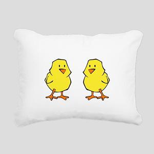 chicksDiggMe1B Rectangular Canvas Pillow