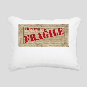 fragiledrk copy Rectangular Canvas Pillow