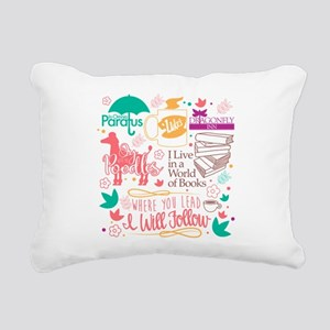 Gilmore Girls Collage Rectangular Canvas Pillow
